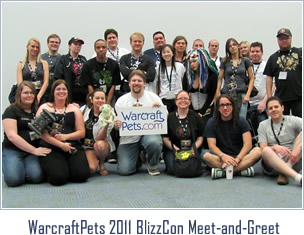 WarcraftPets 2010 BlizzCon Meet-and-Greet